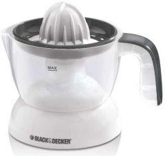 Black + Decker Citrus Juicer, 30 Watts, White - CJ 200
