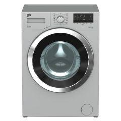 Beko Digital Front Loading Washing Machine, 7 KG, Silver - WTV7512XS