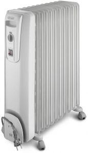 Delonghi Oil Heater, 9 Fins, 2000 Watt, White - KH770920