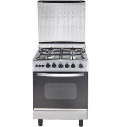 Universal Grand Rosa 4 Burners Stainless Steel Cooker - Silver