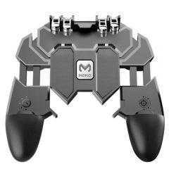 Memo AK66 All-in-One Six Finger Game Controller with Free Fire Key Button L1 PUBG Trigger