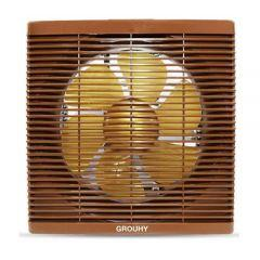 Grouhy Exhaust Ventilating Fan, 25 cm, Brown - GH252B