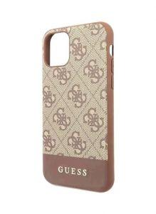 Guess Back Cover for Apple iPhone 11 Pro - Brown