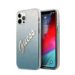 Guess Back Cover for Apple iPhone 12 Pro Max - Blue