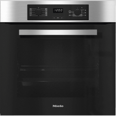 Miele Built-In Electric Oven With Grill, 76 Liters, Stainless Steel- H 2265-1 B Active