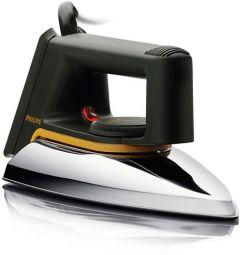 Philips Classic Dry Iron, 1000 Watt, Black - HD1172/07