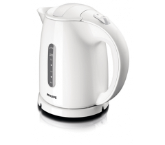 Philips Jug Kettle, 1.5 Liter, 2400 Watt, White - HD4646/00