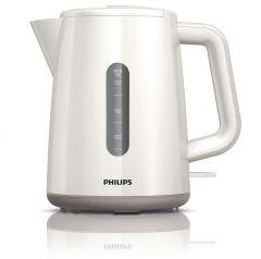 Philips Daily Collection Electric Kettle, 2400 Watt, 1.6 Liter, White - HD9300/02