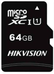 Hikvision C1 Class 10 Micro SD Card, 64GB - HS-TF-C1(STD)/64G
