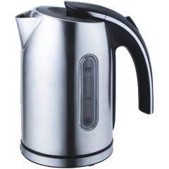 Home Electric Kettle, 1.7 Liters, Silver – K922