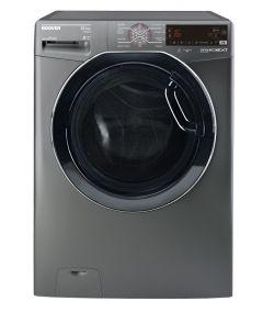 Hoover Front Load Automatic Washing Machine, 13.5 KG, Inverter Motor,  Silver - DWOT4135AHFR-EGY