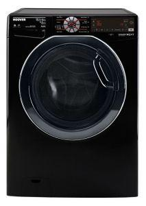 Hoover Front Load Automatic Washing Machine With Dryer, 13.5 KG, Inverter Motor, Black- WDWOT4358AHFBEGY