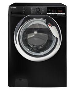 Hoover Front Load Automatic Washing Machine, 8 KG, Black- DXOA38AC3B-ELA