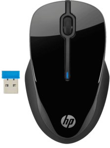 HP 250 Wireless Mouse, Black - 3FV67AA