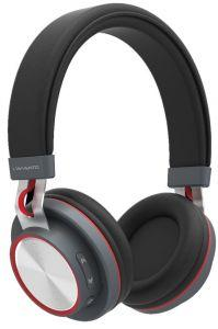 L'avvento Wireless Multiple Touch-Button Headphones, Red - HP07R