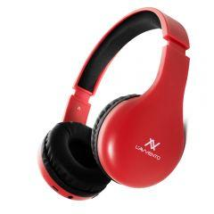 L'avvento Wireless Headphone with Microphone, Red - HP11R