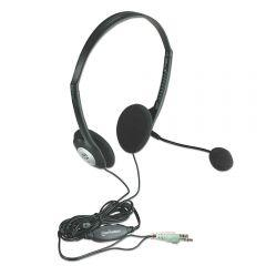 Manhattan On-Ear Headphone Wired with Microphone, Black - 164429