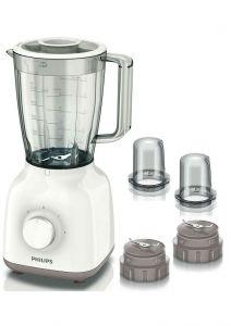 Philips Daily Collection Jug Blender, 400 Watt, White - HR211305