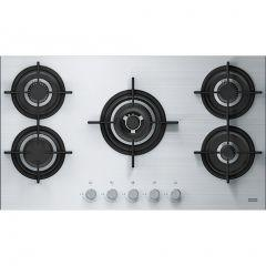Franke Built-In Gas Hob, 5 Burners, Stainless Steel Black - FHCR9054GTCHEXSC