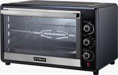 Fresh Electric Oven with Grill, 36 Liters, 1700 Watt, Black/Silver - FR-36R