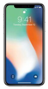 Apple iPhone X, 64 GB, 4G LTE - Silver