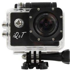 iQ and T Sport Camera with Full Package Accessories and 8GB Micro SD Card, Black - DV2000S