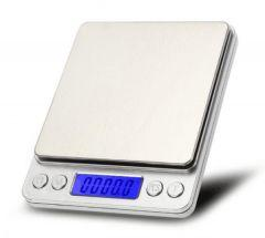 Digital Pocket Scale, 2000 g, Silver