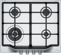 Franke Gas Built-In Hob, 4 Burners, Silver-FHTL 604 3G TC XS C