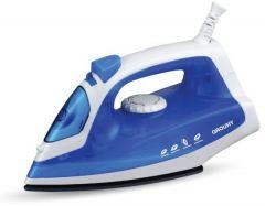 Grouhy Steam Iron, 1600 Watt, White/Blue - G-014103