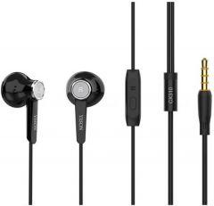 Yison Wired In-Ear Earphones, Black - CX310