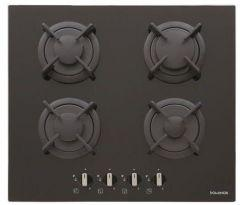Dominox Gas Built-In Hob, 4 Burners, Black- DHG 604 4G BK F C FEN