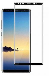 Green 3D Screen Protector for Samsung Galaxy Note 8 - Transparent/ Black Frame