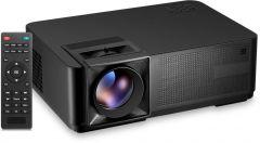 El Romany LED Projector, 1920×1080 Resolution, Black - CM1