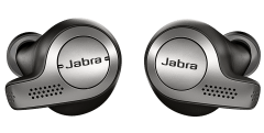 Jabra Elite 65t Wireless Earbuds with Microphone - Black