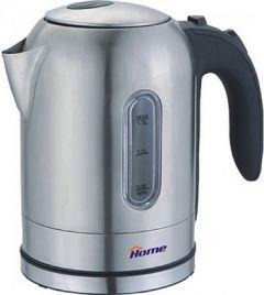 Home Electric Kettle,1.7 Liters, Silver - HHB1755