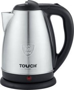 Touch Elzenouky Star Electric Kettle, 1.8 Liter, Stainless Steel - 40319