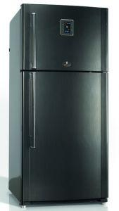 Kiriazi Inverter Freestanding Digital Refrigerator, No Frost, 2 Doors, 625 Liters - KH625 L N