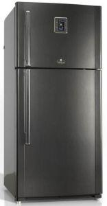 Kiriazi Freestanding Refrigerator, 2 Doors, 25 FT, Black - KH625