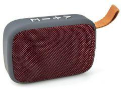 ICONZ Stylish Fabric Bluetooth Speaker, Red - XSP02R