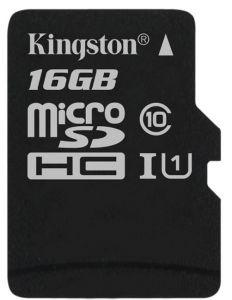 Kingston Canvas Select Class 10 MicroSDHC Memory Card, 16GB