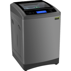 Kiriazi Premiere  Top Load Automatic Washing Machine, 12 KG, Inverter Motor, Silver Metallic - KTW 1212 CS