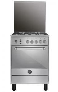 La Germania Gas Cooker, 4 Burners, Stainless Steel- 6C80GLA1X4AWW