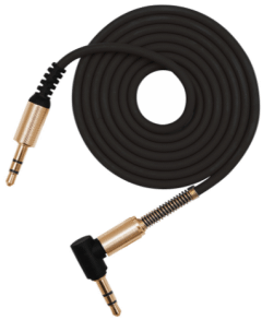 L'avvento AUX Gaming Cable, 1 Meter, Black - MX455