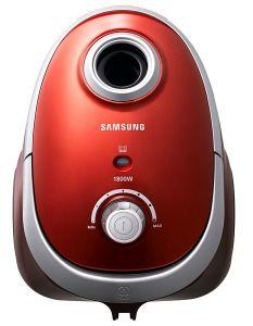 Samsung Canister Vacuum Cleaner With Compact, 1800 Watt, Red - VCC5450V3R/EGT