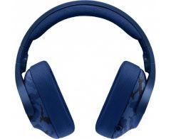 Logitech Gaming On Ear Wired Headphones with Microphone, Blue - G433
