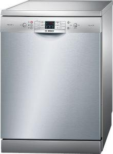 Bosch Freestanding Digital Dishwasher, 13 Place Settings, 60 cm, Silver - SMS68L28TR