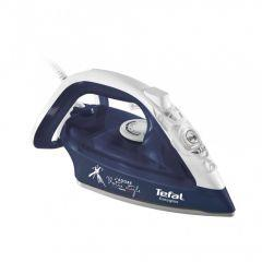 Tefal EasyGliss Steam Iron, 2400 Watt, Blue - FV3968E