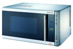 Black & Decker Microwave With Grill, 30 Litre, 1000 Watt, Stainless Steel - MY30PGCS