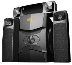Media Tech Wireless Home Theater, 4 Units, Black - MT-3000