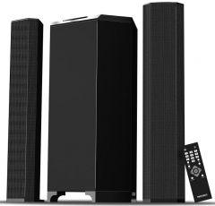 Media Tech 2.1 Wireless Home Theater, 3 Units, Black - MT-626